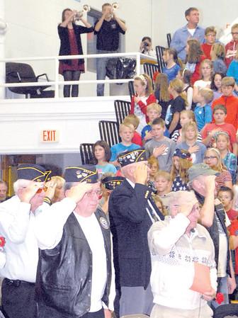2015 Vinton-Shellsburg Veterans' Day Assembly