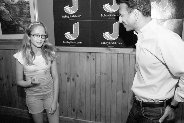 Bobby Jindal visits prospective voters in Vinton