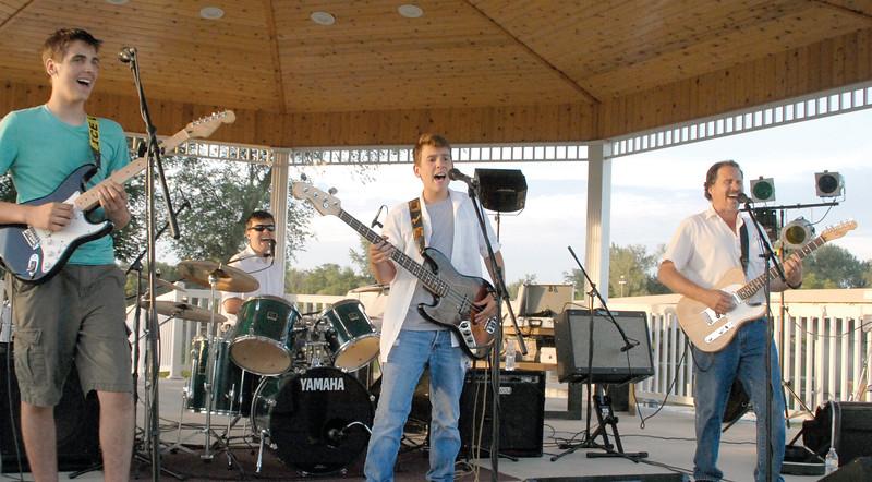 StraitRun in Concert in Celebration Park